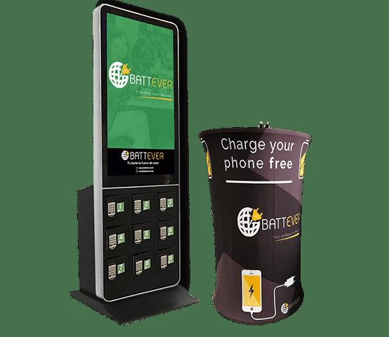 Cargadores para celulares en eventos