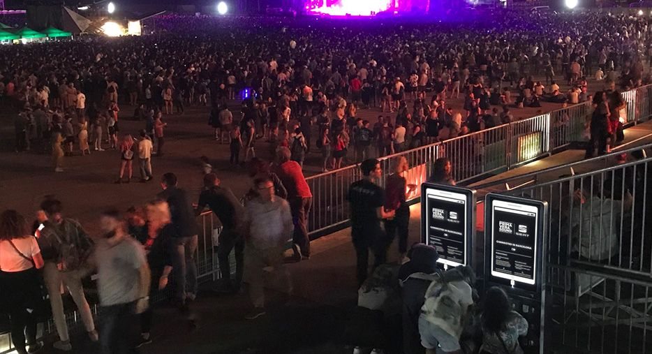 Cargadores para festivales