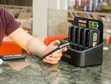 Baterias portátiles para hosteleria