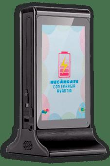 Cargador portátil para celulares con pantalla digital