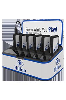 Cargador portátil para celulares en hoteles