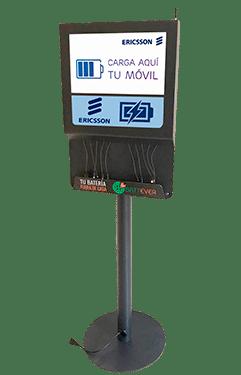 Estación de carga fija para celulares