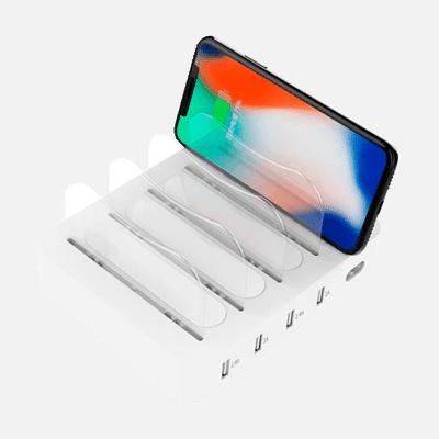 Base de carga Múltiple para celulares