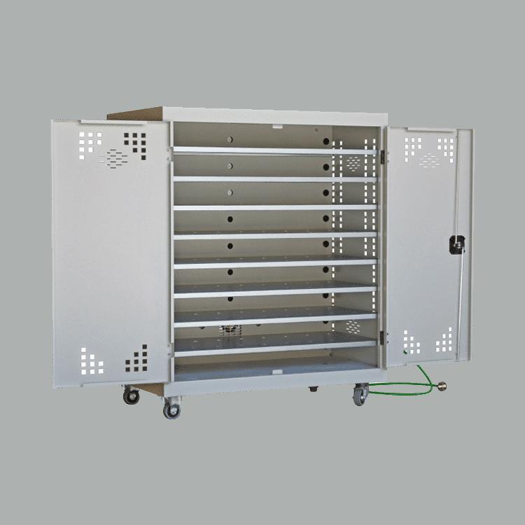 Gabinete de carga para ordenadores tablets