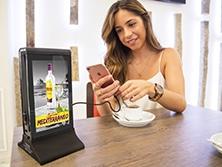 Cargador móvil hostelería