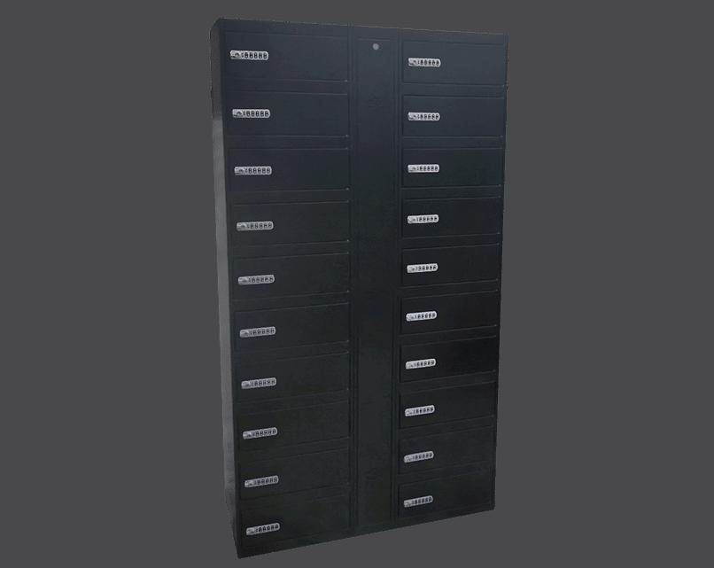 Gabinete de carga para celulares y tablets