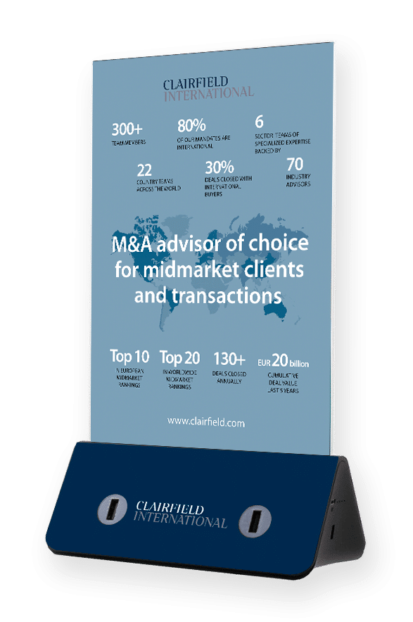 Cargador de celulares para evento y congresos