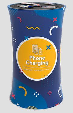 Estaciones de carga fija para celulares